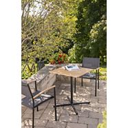 CANVAS Tremblant Wood & Steel Bistro Table