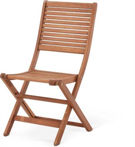 Chaise de bistro pliante CANVAS Sherbrooke Image de l'article