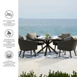 CANVAS Jensen Dining Set, 5-pc | CANVASnull