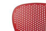 CANVAS Main Street Resin Patio Chair, Red | CANVASnull