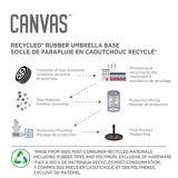CANVAS Borden Black Recycled Umbrella Base | CANVASnull