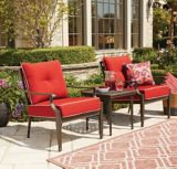 CANVAS Coventry Chat Set, Red | CANVASnull