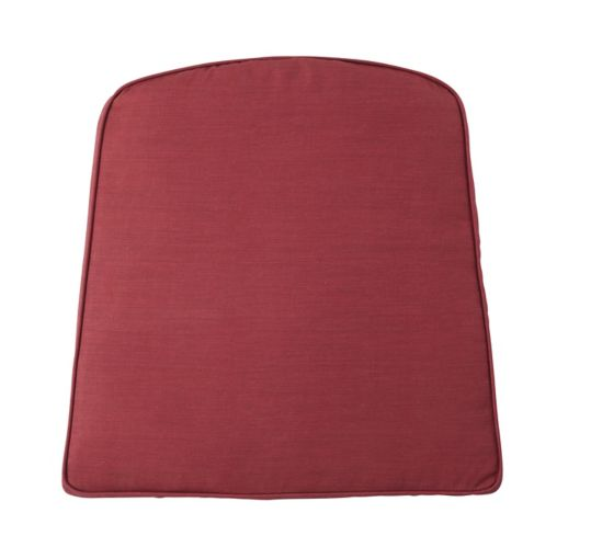 CANVAS Canterbury Patio Chair Pad, Red Product image