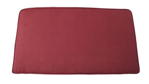 Coussin de causeuse de jardin CANVAS Canterbury, rouge Image de l'article