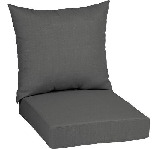 Coussin de siège profond CANVAS, gris Image de l'article