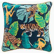 Coussin décoratif CANVAS Jungle, 18 po