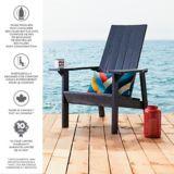 CANVAS Arrowhead Recycled Muskoka Chair, Navy | CANVASnull