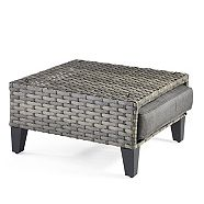 CANVAS Breton Patio Ottoman