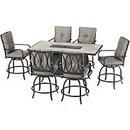 CANVAS Camrose Fire Table Dining Set, 7-pc