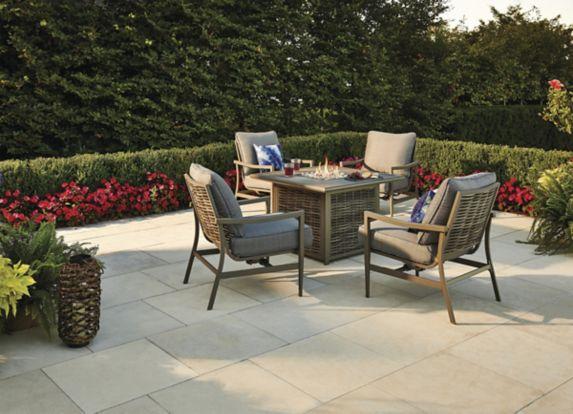 Ensemble de détente avec foyer de table CANVAS Sandbanks, 5 pces Image de l'article