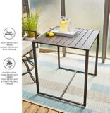 Table carrée de balcon CANVAS Fairview | CANVASnull