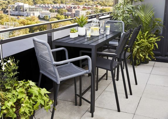 Table rectangulaire de balcon CANVAS Mercier Image de l'article