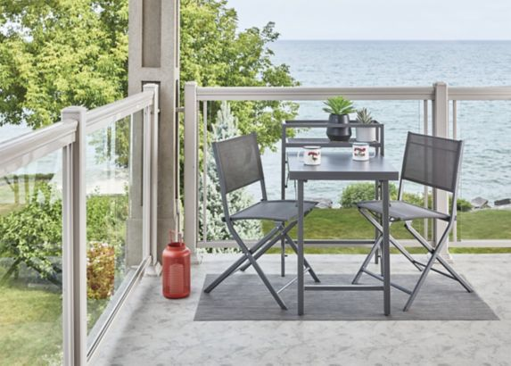 CANVAS Spadina Folding Bistro Set, 3-pc Product image