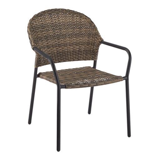 Chaise de salle à manger à dossier en tonneau CANVAS Breton Image de l'article