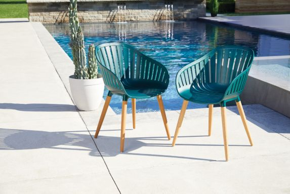 CANVAS  Shelburne Ocean Plastic Chairs, 2-pk Product image