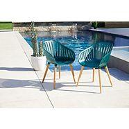 CANVAS  Shelburne Ocean Plastic Chairs, 2-pk