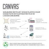 CANVAS  Shelburne Ocean Plastic Chairs, 2-pk | CANVASnull