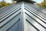 Abri de jardin à toit rigide CANVAS Skyline, cadre en aluminium et en acier galvanisé, 10 x 12 pi | CANVASnull
