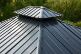 CANVAS Skyline Aluminum & Galvanized Steel Frame, Hard Top Gazebo, 10-ft x 12-ft | CANVASnull