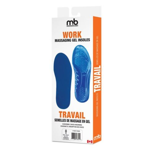 Moneysworth & Best Gel Insole, Work Product image
