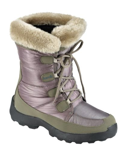 Women's Kamik Fur Winter Boot, Taupe Product image