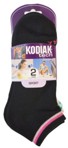 Kodiak Low-Cut Sports Socks, 2-pk Product image