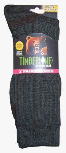 Chaussettes de randonnée, Kodiak Timberline, homme, paq.2 Image de l'article