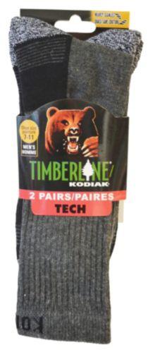 Kodiak Men's Technical Timberline Ribbed Leg Crew Socks, 2-pk Product image