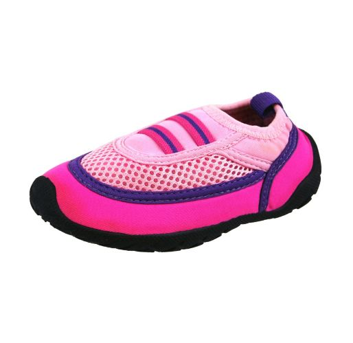 Children's Aqua Socks Water Shoes, Pink Product image