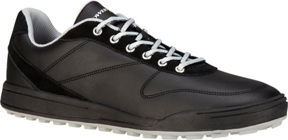 PowerBilt Ace Men's Spikeless Golf Shoes, Black/Grey Product image