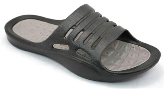 Men's Black and Grey EVA Slide Sandals Product image