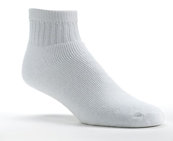 Women's White Ascent Sport Socks, 3-pk Product image