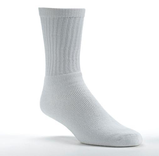 Men's White Ascent Sport Socks, 3-pk Product image
