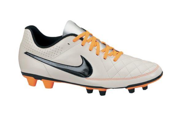 Nike Tiempo Rio II FG Soccer Cleats, Men's, White Product image