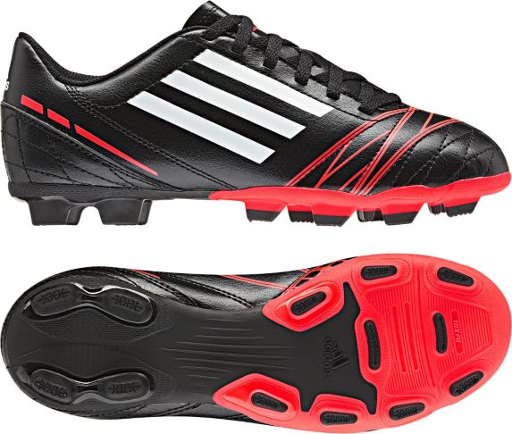 Adidas Conquisto Black Soccer Cleats, Junior Product image