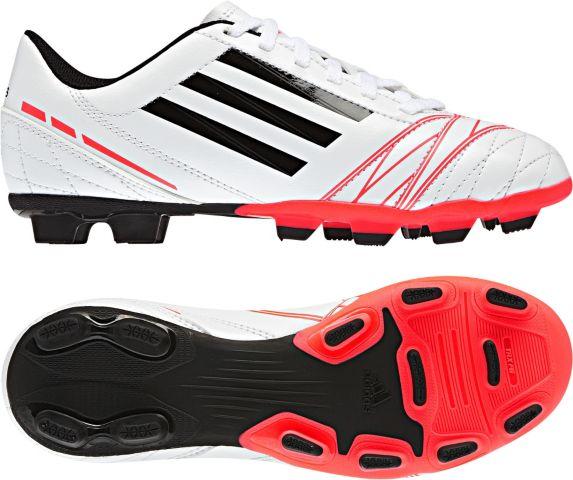 Chaussures à crampons de soccer Adidas Conquisto, junior, blanc Image de l'article