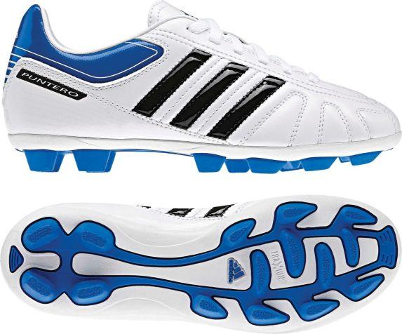 Chaussures à crampons de soccer Adidas Conquisto, sénior, blanc Image de l'article