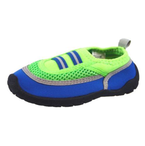 Children's Aqua Socks Water Shoes, Green Product image
