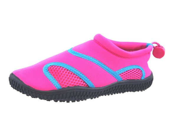 Ascent Children's Aqua Socks Water Shoes, Pink Product image