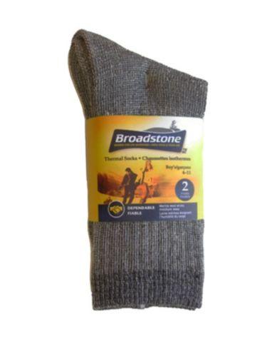 Chaussettes thermales Broadstone, garçon, mérinos Image de l'article
