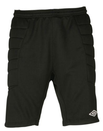 Umbro Goalkeeper Padded Shorts, Adult, Black/White Product image