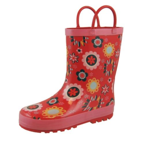 Kids' Floral Rubber Boots Product image
