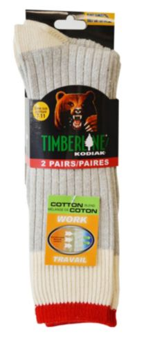 Kodiak Cotton Work Sock, 2-Pk Product image