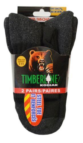 Chaussettes de travail Kodiak, coton, noir, paq. 2 Image de l'article