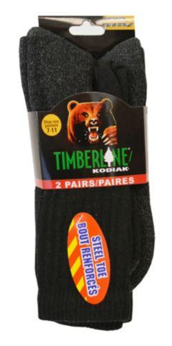 Chaussettes tube Kodiak, coton, noir Image de l'article