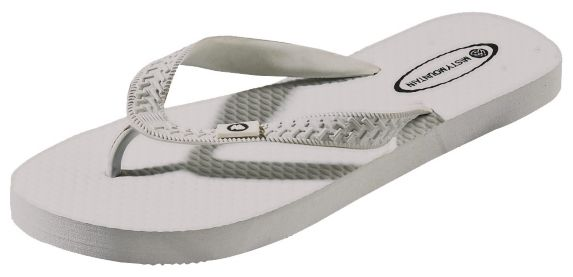 Misty Mountain Women's Flip Flops, White Product image