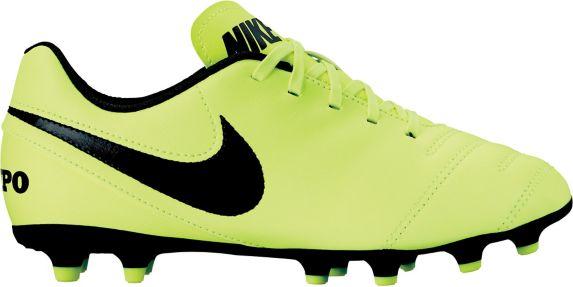 Chaussures à crampons de soccer Nike Tiempo Rio, sol ferme, junior Image de l'article