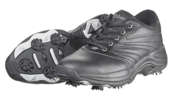 Wilson Matchplay Golf Shoes, Black, Men's Product image