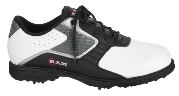 Ram Men's Cato Golf Shoes, White Product image