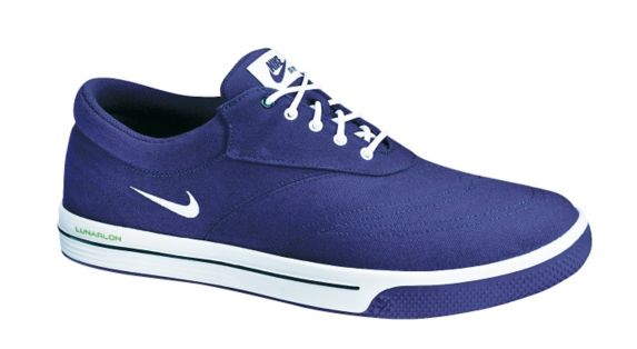 Nike Men's Lunar Swing Tip Golf Shoes, Blue Product image